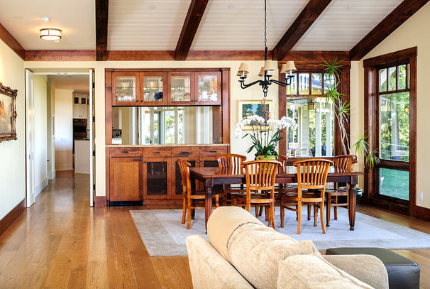 Craftsman Dining Room by Mark Pearcy ARCHITECTURE