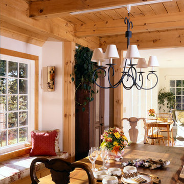 Post and Beam Storybook Cottage
