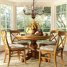 Traditional Dining Room by Pottery Barn