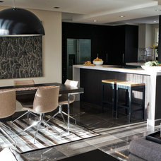 Contemporary Dining Room by Darren Palmer Interiors