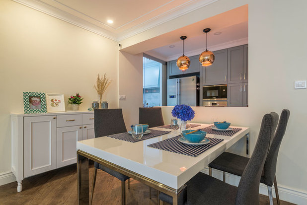 Fusion Dining Room by Aiden T