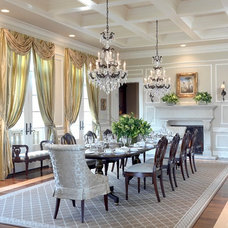 traditional dining room by Mitchell Wall Architecture & Design