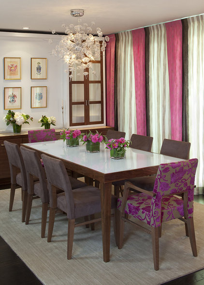 contemporary dining room by Artistic Desi