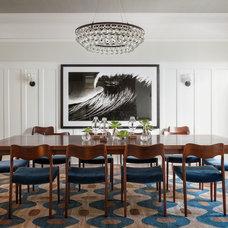 Midcentury Dining Room by Lauren Nelson Design