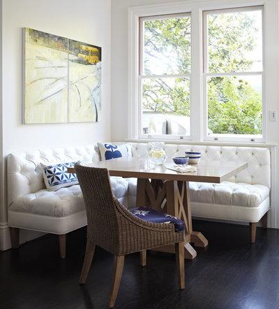 Traditional Dining Room by Charlie Barnett Associates