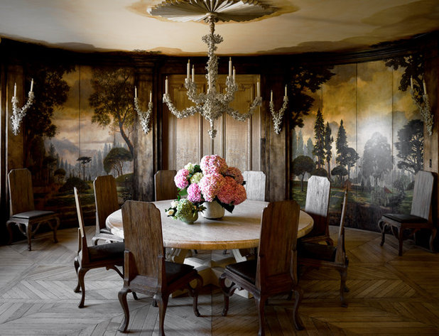 Traditional Dining Room by Lawson Willard Architecture