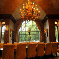Mediterranean Dining Room by Preston Custom Homes