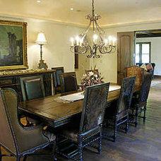 Mediterranean Dining Room by Preston Custom Homes