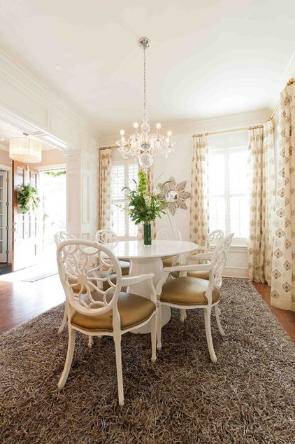 Traditional Dining Room by Heather ODonovan Interior Design