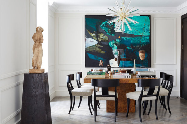 Contemporary Dining Room by N Studio