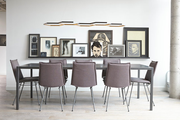 Contemporary Dining Room by Alisa Rose Design