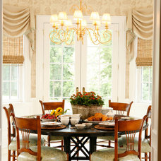 Traditional Dining Room by AJ Margulis Interiors