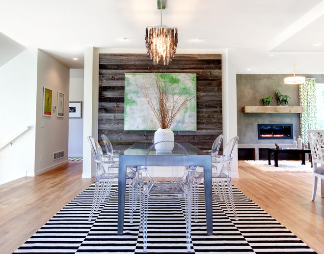 Contemporary Dining Room by AMEK Custom Builders
