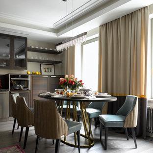 Пример оригинального дизайна: столовая в современном стиле
