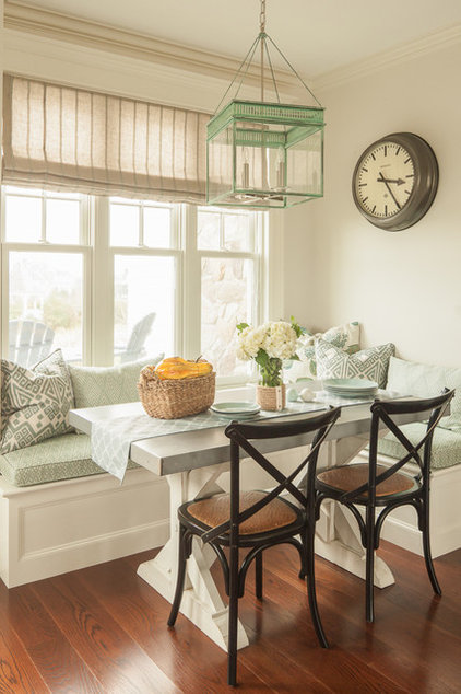 Beach Style Dining Room by JS Interiors LLC