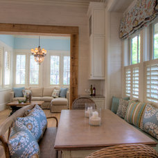 Beach Style Dining Room by 30A Interiors