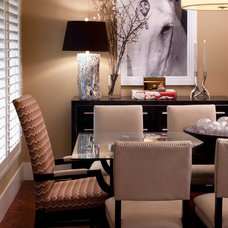 Contemporary Dining Room by KS McRorie Interior Design