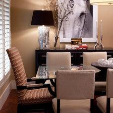 Contemporary Dining Room by KS McRorie Interior Design