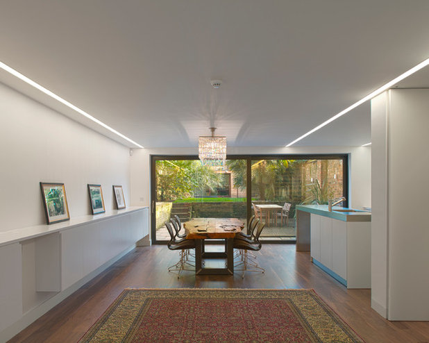 Contemporary Dining Room by Found Associates