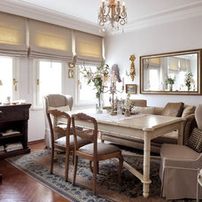 Eclectic Dining Room by gogo gulgun selcuk
