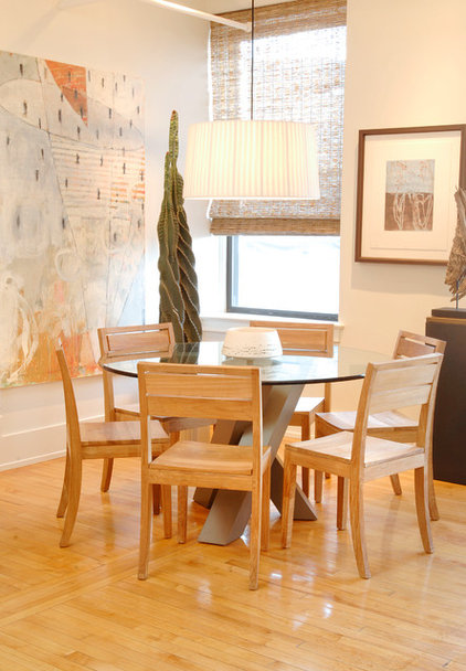 Contemporary Dining Room by Leighton Design Group