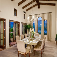 Mediterranean Dining Room Private Residence 1