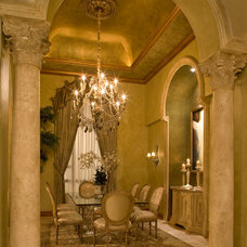 Traditional Dining Room by Susan Lachance Interior Design