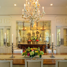 Traditional Dining Room by CGN Designs LLC