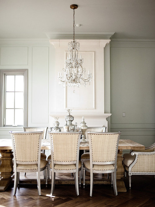 Dining room crystal chandelier home design ideas renovations photos - Crystal chandelier for dining room ...