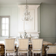 transitional dining room by Alice Lane Home Collection