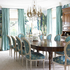 traditional dining room by Pulliam Morris Interiors