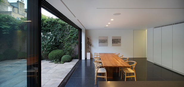 Modern Dining Room by Found Associates