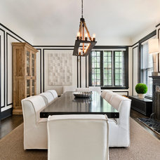 Contemporary Dining Room by Parallax Design LLC