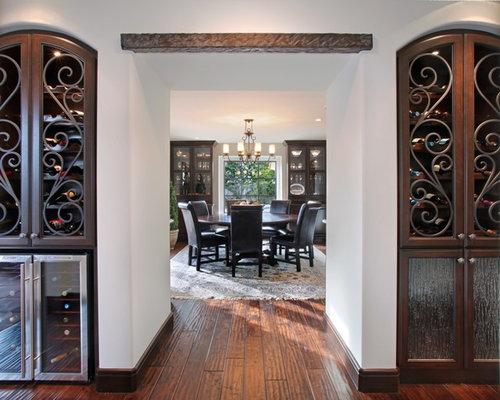 Wrought Iron Wine Cellar Door Houzz