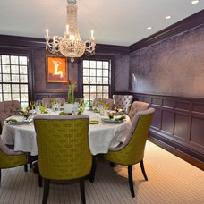 Contemporary Dining Room by Dave Tilly & Associates LLC