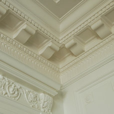 Traditional Dining Room by Hyde Park Mouldings