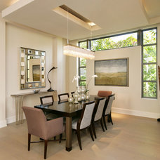 Contemporary Dining Room by Collins & DuPont Design Group