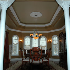 Traditional Dining Room by Meyer Design