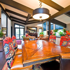 Traditional Dining Room by Sticks and Stones Design Group Inc