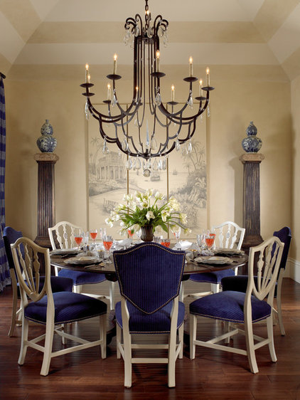 Traditional Dining Room by Pacifica Interior Design