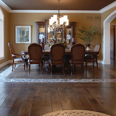 Traditional Dining Room by Signature Innovations LLC