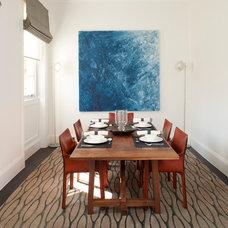 Contemporary Dining Room by Greenleaf Lighting Ltd