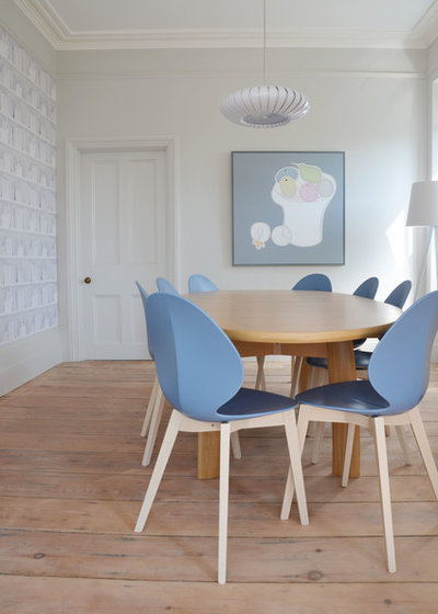 Transitional Dining Room By Iroka