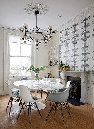 Contemporary Dining Room by Anna Stathaki | Photography