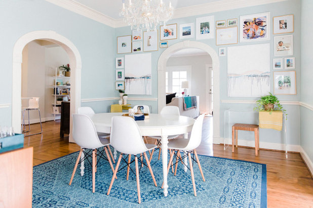 Transitional Dining Room by Town Lifestyle + Design