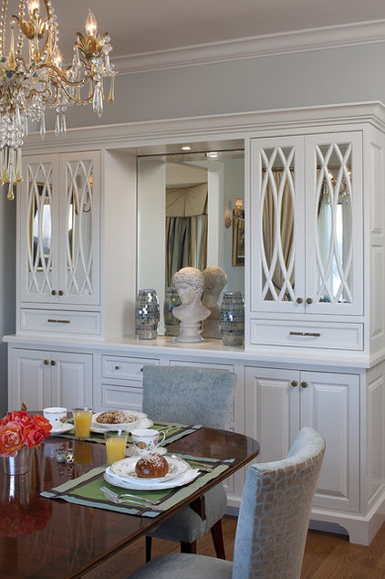 Traditional Dining Room by Julie Williams Design