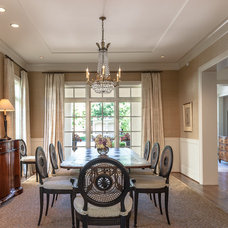 Traditional Dining Room by Carl Mayfield Architectural Photographer