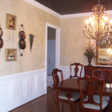 Traditional Dining Room by Carol's Home Creations