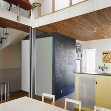 Contemporary Dining Room by Delson or Sherman Architects pc
