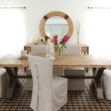 Traditional Dining Room by Marco Polo Imports